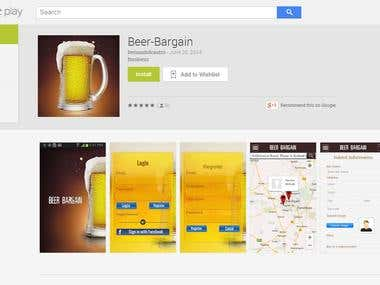 GPS Location App ---  Beer Bargain