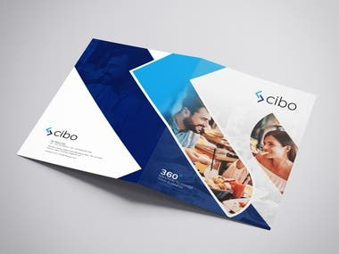 CIBO promotion Brochure restaurants