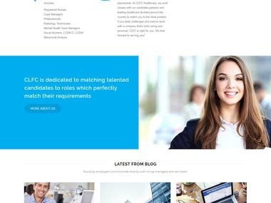 Website for CLFconsultant Health Agency