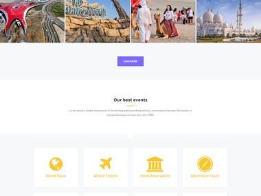 Travel Portal.