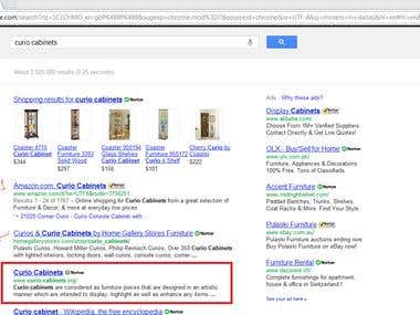 Top 3 in google