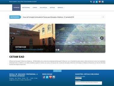 Wordpress CETAM EAD