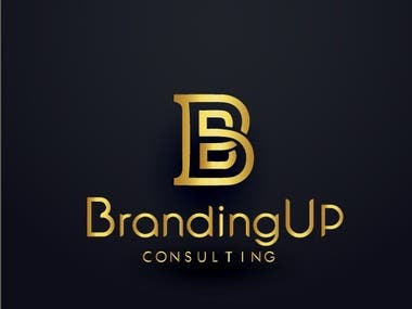 Logo Design for Branding Up Consulting