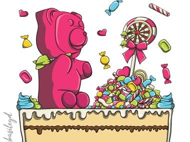 Darts Gummy Bear