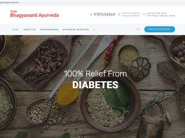 For Ayurveda Wellness center