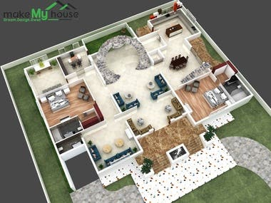 3D floor Planning for your house