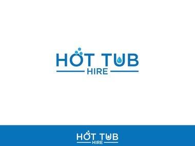 logo for hot tub hire company