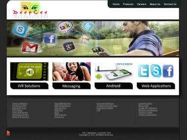 WebSite For DeepCee International