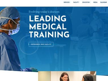 FL Hospital Nicholson Center - Laravel