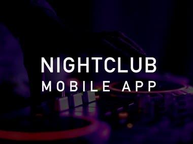Nighclub Mobile App