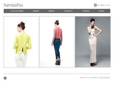 Jooma E-commerce site using Virtuemart