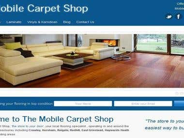 Mobile Carpet Shop
