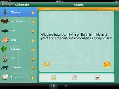 Science Facts from around the globe for iPad