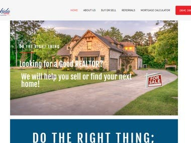 Improve functions to my website - www.lakidahomes.com