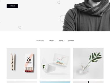 Skyflypro - Portfolio WordPress Theme