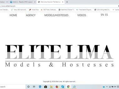 Model website https://www.elitelima.com