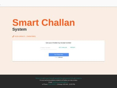 Smart Challan System