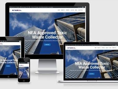 Simple Wordpress Website