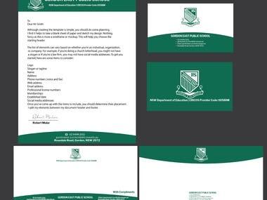 Business Card , letterHead..Compliment Slip ,logo