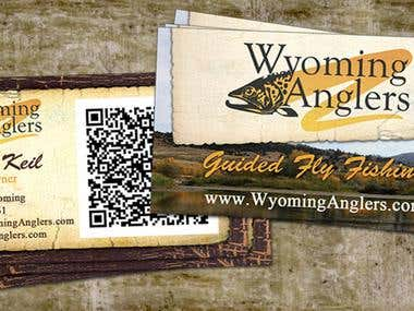 Wyoming Anglers, Business cards