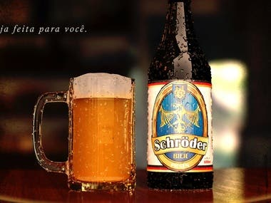 Project developed for company: Schröder Bier.