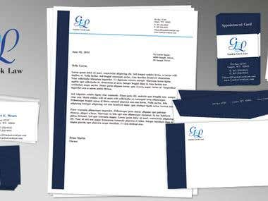 Garden Creek Law - Corporate Stationary Pack
