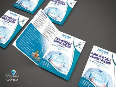 Bi fold Brochure for Life Coach and Mentor
