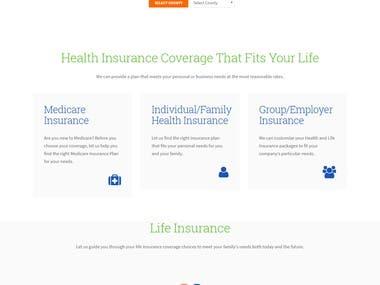 Insurence Website