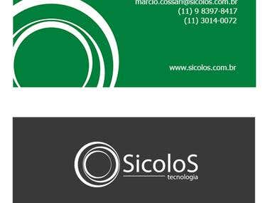 Cartão de Visita - Sicolos tecnologia