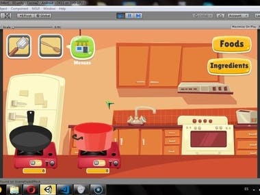 Kitchen Ggame Test