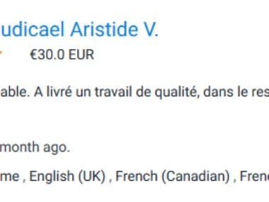 French Virtual Assistance
