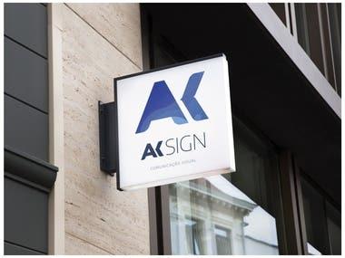Remake Ak Sign Logo