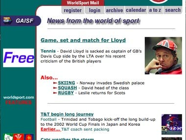 Sport guides for worldsport.com