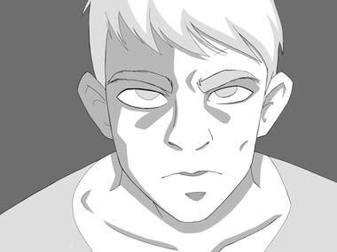 Manga character.