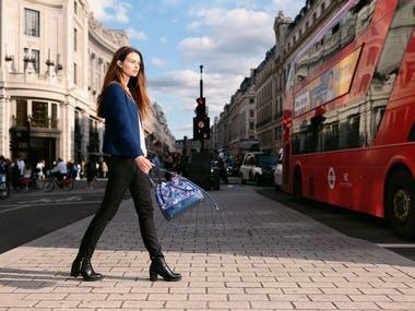 Lifestyle / Fashion shoot for handbag brand Aza Zainol