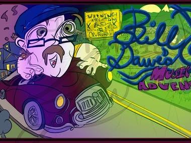 Bill Dawe's Musical Adventures Banner
