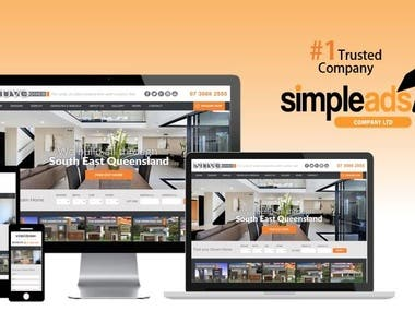 NUVO HOMES Wordpress Website Development