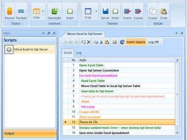 Windows desktop task automation
