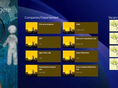Windows 8.1 Web store application