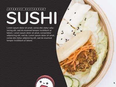 SUSHI Flyer Restaurant
