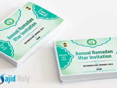 Islamic Business Card