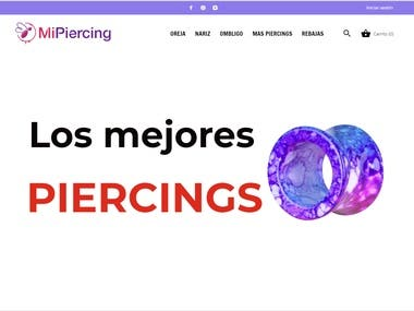 MiPiercing - Ecommerce