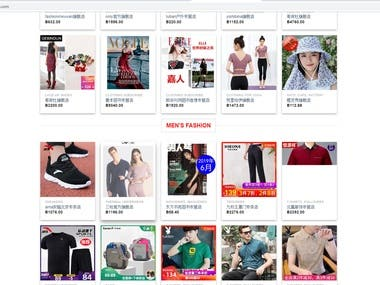 Woocommerce shoping site
