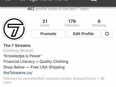 Building Brand Equity - 0-1,280 Organic Instagram Followers