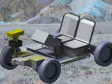 Lunar Rover Using CATIA-V5