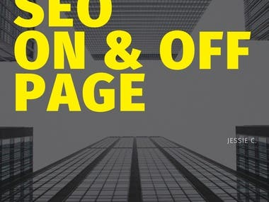 SEO On & Off page.