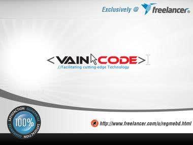 "Logo for ""VainCode"""