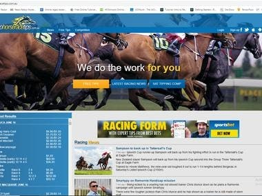 Sport Betting(php,laravel,mysql)