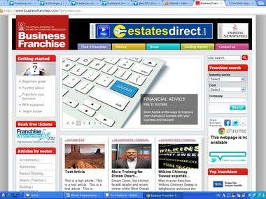 businessfranchise site
