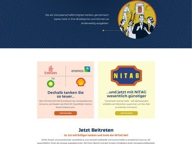 Feul station WordPress website designing & development